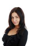 O retrato fêmea latino-americano novo isolou-se foto de stock royalty free
