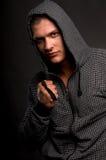 O retrato masculino. fotos de stock