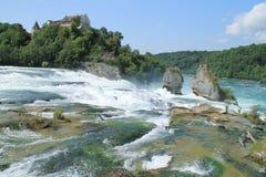O Rhine Falls Imagem de Stock