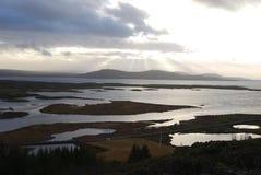 O Ridge Mid-Atlantic islandês. fotos de stock