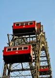 O riesenrad na roda de ferris Viena-gigante Foto de Stock Royalty Free