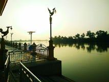 O rio é vasto Imagens de Stock Royalty Free