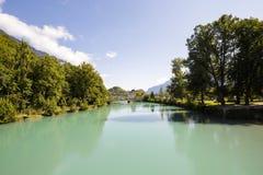 O rio Aare Foto de Stock Royalty Free