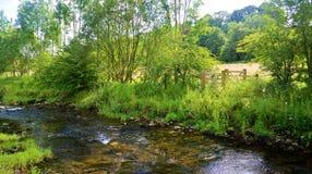 O Rio Aire foto de stock