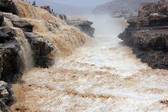 O Rio Amarelo fotos de stock