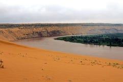 O Rio Amarelo Imagem de Stock