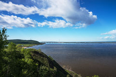 O rio Amur Imagens de Stock Royalty Free