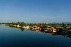 O rio Bojana Fotos de Stock Royalty Free