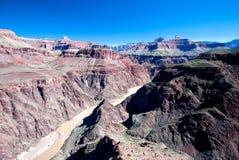 O Rio Colorado em Grand Canyon Fotos de Stock Royalty Free