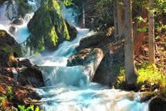O rio da montanha Imagem de Stock