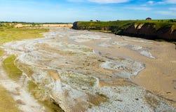 O rio de Aksu em Cazaquistão na primavera Foto de Stock Royalty Free