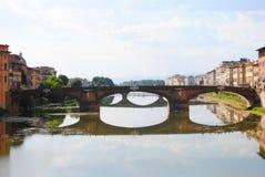 O rio de Arno, Florença, Itália foto de stock royalty free