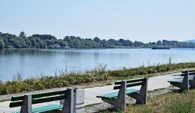 O rio de Danúbio foto de stock