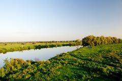 O rio de Dnieper Fotos de Stock