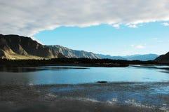 O rio de Lhasa Imagem de Stock Royalty Free