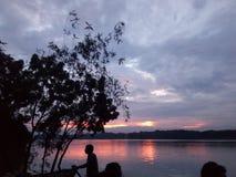 O rio de Mahanonda Foto de Stock