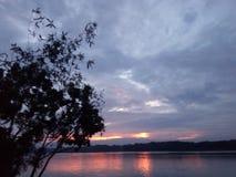 O rio de Mahanonda fotos de stock