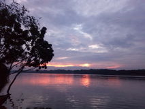 O rio de Mahanonda imagem de stock