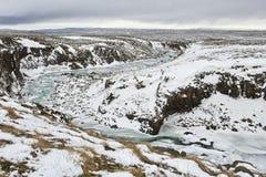 O rio de Miklagil Fotografia de Stock Royalty Free