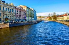 O rio de Moyka Imagens de Stock