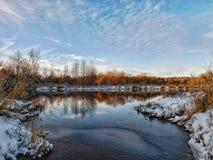 O rio de Oredezh Imagens de Stock Royalty Free