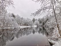 O rio de Oredezh Foto de Stock