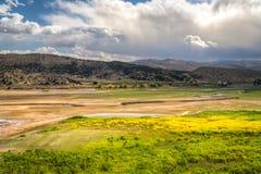 O rio de Provo em Utá, Estados Unidos Imagem de Stock