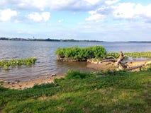 O Rio Delaware fotografia de stock