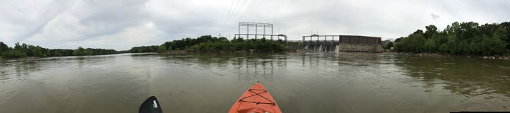 O rio do Catawba Fotos de Stock