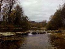 O rio do trueba Imagens de Stock