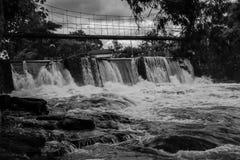 O rio e sua corredeira fotografia de stock royalty free