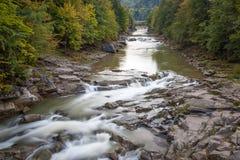 O rio flui em você Imagem de Stock