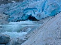 O rio frio Fotos de Stock Royalty Free
