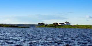 O rio Guadiana Imagens de Stock