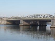 O rio Medway, Rochester, Kent, Reino Unido imagem de stock royalty free