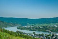 O rio Moselle, Alemanha Foto de Stock