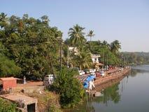 O rio na Índia Foto de Stock Royalty Free
