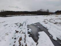 O rio Oredezh Fotos de Stock