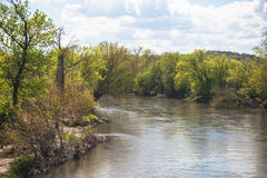 O rio pequeno 1 de Turquia Foto de Stock Royalty Free