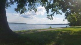 O Rio Potomac Fotos de Stock