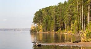 O rio sob o sol ural Imagem de Stock Royalty Free