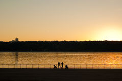 O Rio Volga Imagens de Stock