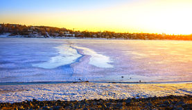 O Rio Volga Imagens de Stock Royalty Free