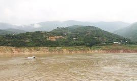 O Rio Yangtzé Fotos de Stock