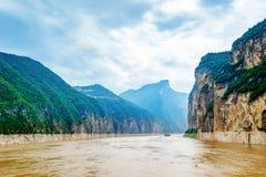 O Rio Yangtzé Three Gorges Imagem de Stock Royalty Free