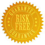 O risco livra o ícone Fotografia de Stock Royalty Free