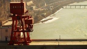 O River-5 amarelo Foto de Stock