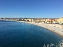 O Riviera agradável imagem de stock royalty free