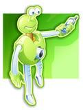 O robô começ móvel ilustração do vetor