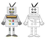O robô Imagem de Stock Royalty Free